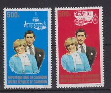 1981 Royal Wedding Charles & Diana MNH Stamp Set Cameroon Perf SG 907-908