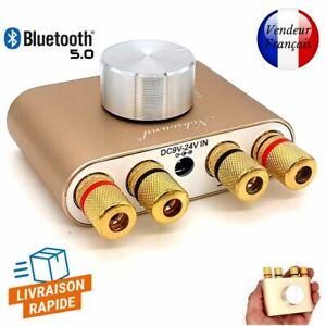 Nobsound Mini Amplificateur de puissance Bluetooth 5.0 Stereo Hi-Fi 100w