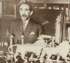 1974 Press Photo Haile Selassie of Ethiopia Age 82