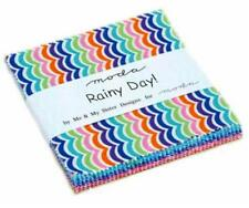 "Rainy Day 5"" Squares Charm Pack  Moda Fabric Quilt 100% Cotton22290PP"