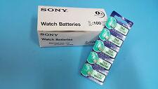 SONY SR621SW 621 364 Silver Oxide Watch Battery x100