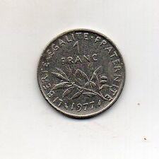 Francia 1 francos 1977