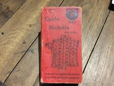 Guide michelin rouge france 1926