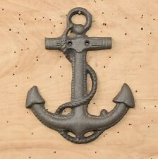 Large Cast Iron Boat Anchor Nautical Wall Decor No finish