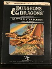 D&D: Master Player Screen Featuring The Spindle AC7 9156