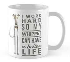 Whippet Dog Mug gift Whippet lover Birthday present cup merchandise tea coffee