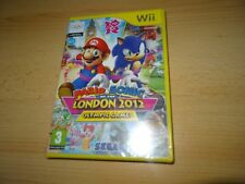 MARIO & SONIC AT THE LONDON OLYMPICS GAMES 2012 Nintendo Wii NEW SEALED PAL