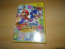 Mario & Sonic alle Olimpiadi di Londra 2012 Giochi Nintendo Wii NUOVO SIGILLATO PAL