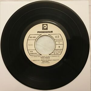 45 DAVID BOWIE RAGAZZA SOLA + VARI - EP Promozionale - ANNO 1970 Stampa italiana
