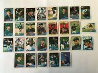 1989 MINNESOTA TWINS Topps COMPLETE Baseball Team SET 29 Cards PUCKETT HRBEK!