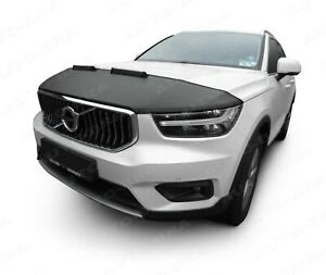 BONNET BRA for VOLVO XC40 since 2017 STONEGUARD PROTECTOR TUNING
