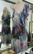White Suede by Jacqui Denkiw Dress.Sz8.Dsgnd & made in Aus.100% silk.As new