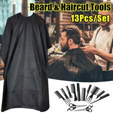 13pz Forbici Parrucchiere Barbiere Mantello Set Taglio Capelli Professionale