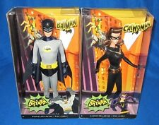 Barbie Ken Classic Tv Series Catwoman & Batman Set Y0302/Y0304 **NEW**