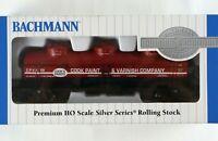 BACHMANN 17145 Three Dome Tank Car 40' HO Scale Silver Series Model Train