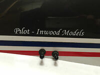 R-C PLANE/HELICOPTER/MULTI ROTOR PILOT NAME BADGE X2