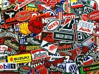 Iron On Patch/ Sew Motor GP Racing Motorcycle Bike Badges & Sponsor Embroidered