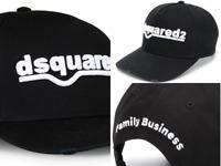 Dsquared2 Iconic D2 Logo Baseballcap Cap Kappe Basebalkappe Hat Hut New