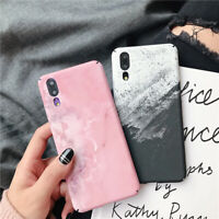For Huawei P smart 2019 P30 Pro P30 Marble Ultra-thin Shockproof Hard Case Cover