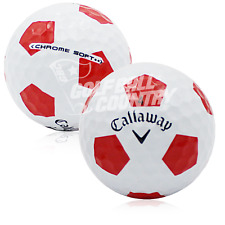 24 Callaway Chrome Soft Truvis Red/White Aaa (3A) Used Golf Balls
