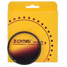 ZOMEI 52mm Ultra Slim Graduated Gradual Neutral Density Gray Color Lens Filter