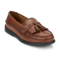 Dockers Mens Sinclair Leather Dress Casual Tassel Slip-on Comfort Loafer Shoe