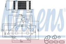 Oil Cooler 90717 for CITROÃ‹N C-ELYSEE 1.6 HDI 92 C2 HDi C3 I 16V II HQ