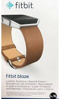 Fitbit Blaze Leather Accessory Band (Large) - Camel BRAND NEW FREE SHIPPING OEM