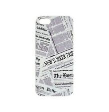 HOUSSE ETUI COQUE PROTECTION ★ AKASHI ★ IPHONE 5 5G ★ NEWSPAPER DESIGN CASE
