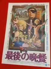 La GRANDE BOUFFE Japanese B2 movie poster MICHEL PICCOLI MARCELLO MASTROIANNI