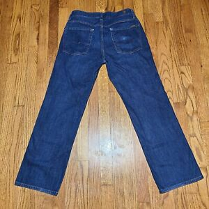 7 for All Mankind Austyn Mens Jeans Size 32 x 30 Made in the USA Blue