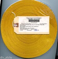 "Yellow Nylon Textile Tape Twill Weave Flat 5/8"" x 200 yards"