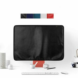 Computer Dustproof Back Pocket Display Cover PU Leather For Apple 24 Inch IMac