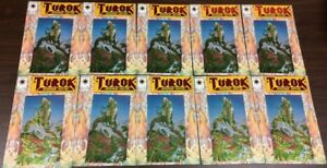 TUROK #1 VALIANT CHROMIUM FOIL EMBOSSED COVER 1993 - NM- LOT OF 10 COPIES