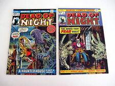 *DEAD OF NIGHT HIGH GRADE LOT 10 Books Guide $239 Intro Scarecrow!