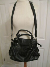 Chenson faux leather studded black shoulder/hand bag
