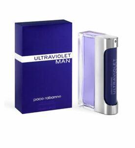 PACO RABANNE ULTRAVIOLET MAN 100ML EAU DE TOILETTE ** Brand New **
