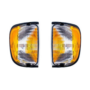 NEW PAIR OF SIDE MARKER LIGHTS FITS FORD E-150 E-250 ECONOLINE F2UZ-13200-A