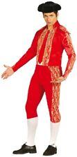 Déguisement Homme TORERO Rouge L Costume Adulte Matador Toréador Espagnol NEUF
