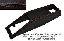 ORANGE STITCHING SEAT BELT BINNACLE SKIN COVER FITS TRIUMPH STAG MK1 MK2 70-77