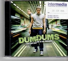 (FM94) DumDums, Can't Get You Out of My Thoughts - 2000 CD