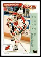 1992-93 Panini Stickers Alexei Kasatonov #180