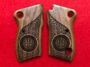 Beretta Model 1951 Walnut wood grips hand made