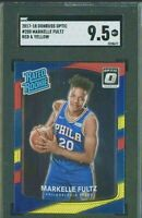 2017-18 Optic Red yellow Prizm Markelle Fultz 76ers RC Rookie SGC 9.5 PSA 10🔥