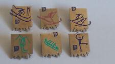 Olympische Winterspiele LILLEHAMMER 1994 Abzeichnen / badges.