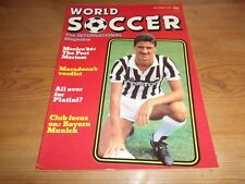 Football Magazine World Soccer September 1986 Bayern Munich Maradona Mexico 86
