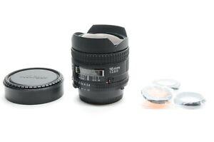 Nikon AF Fisheye NIKKOR 16mm f/2.8 D Lens from Japan!!