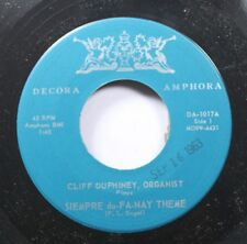 50'S & 60'S Nm! 45 Cliff Duphiney, Organist - Siempre Du-Fa-Nay Theme / Forever