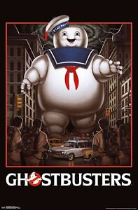 GHOSTBUSTERS - STAY PUFT POSTER - 22x34 - MOVIE 17850