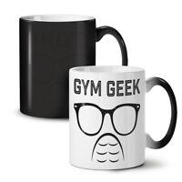 Geek Gym Fitness NEW Colour Changing Tea Coffee Mug 11 oz | Wellcoda